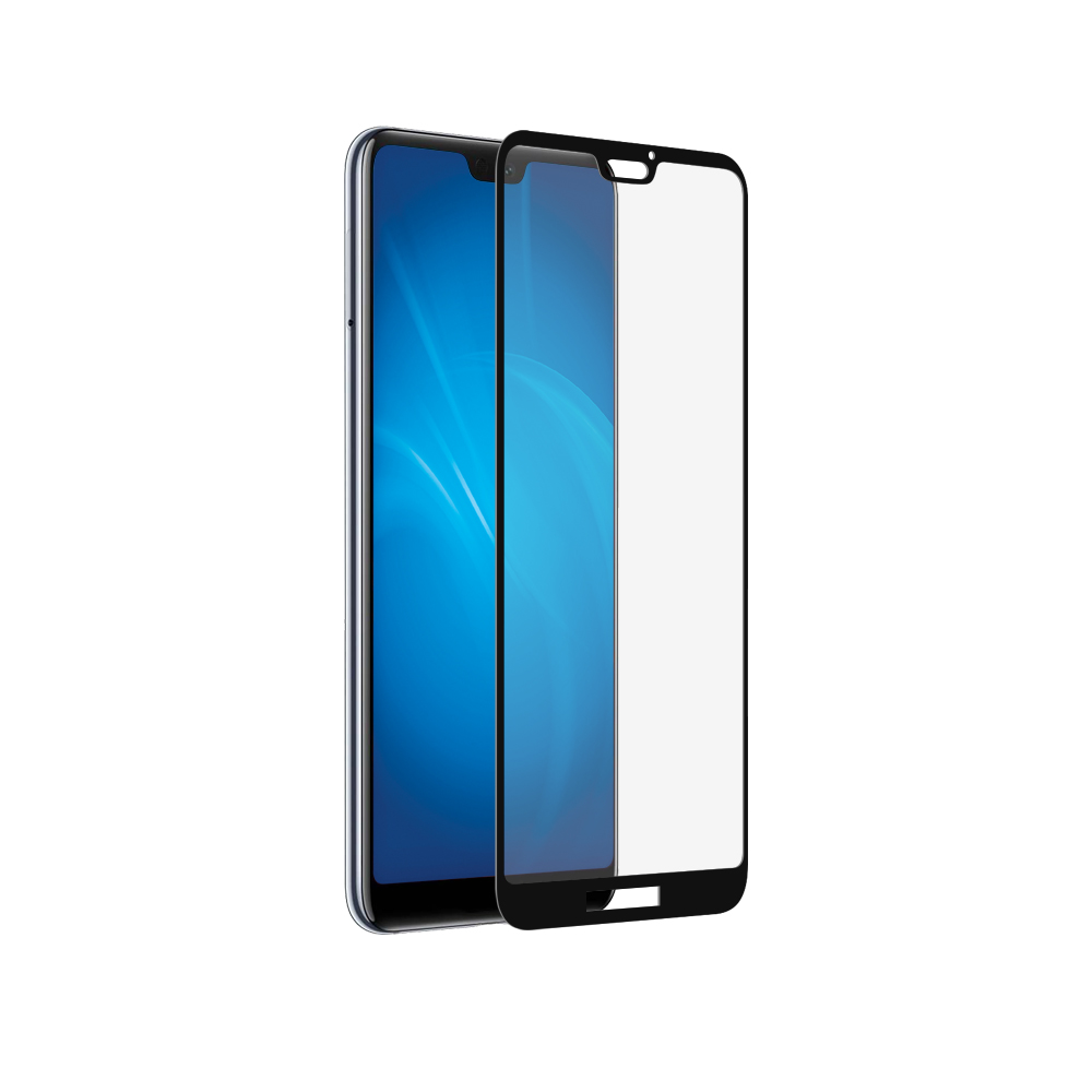 Стекло 3D для HUAWEI Honor P20 Lite (Black)