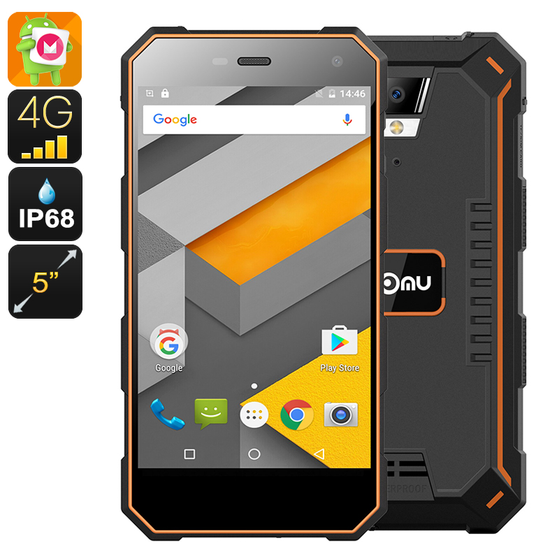 Nomu S10 Pro 3/32Gb Black/Orange