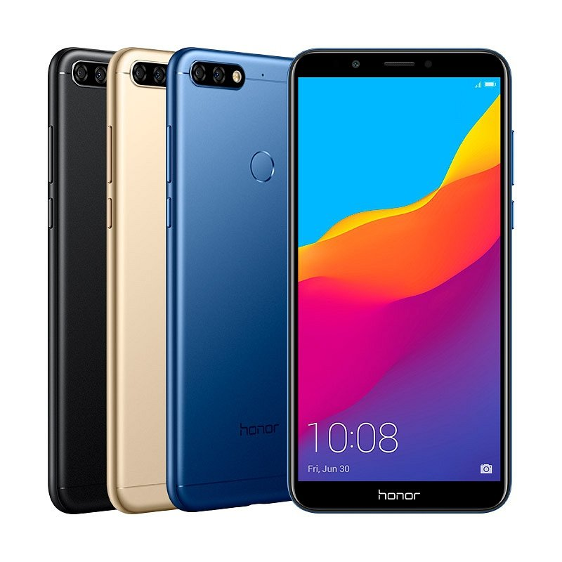 Смартфон Honor 7c 3/32 Black (LND-AL30)