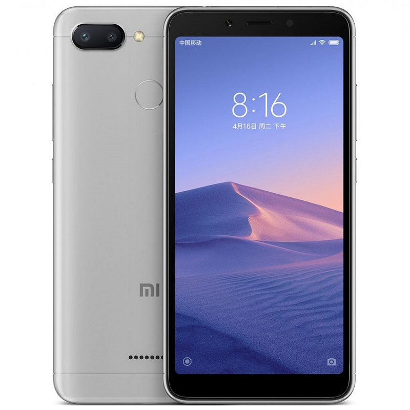 Xiaomi Redmi 6 64Gb Gray Global Version