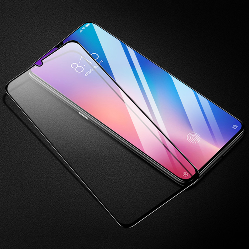Стекло 5D для Xiaomi Redmi 7 (Black)