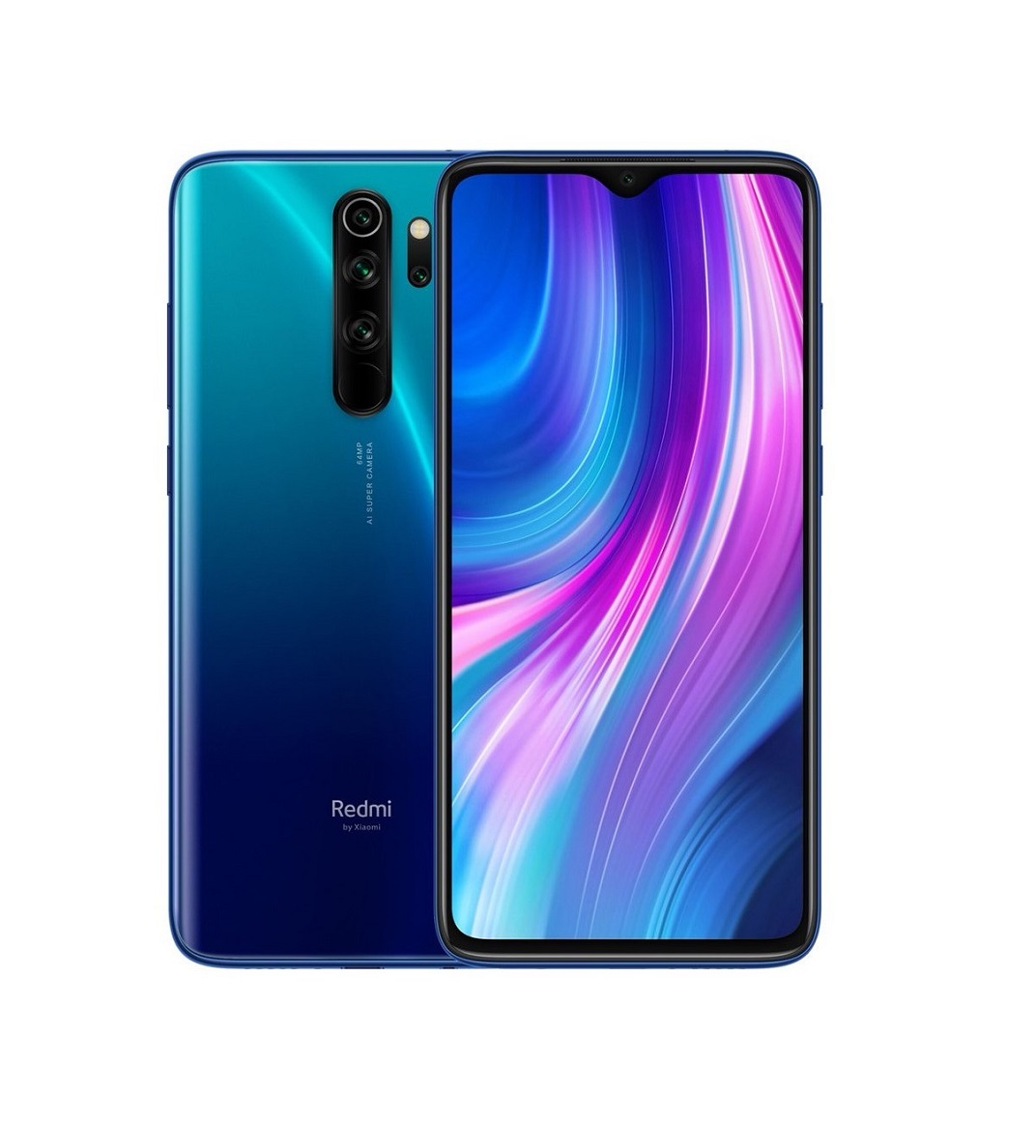 Смартфон Xiaomi Redmi Note 8 Pro 6/128Gb Blue (Global Version)